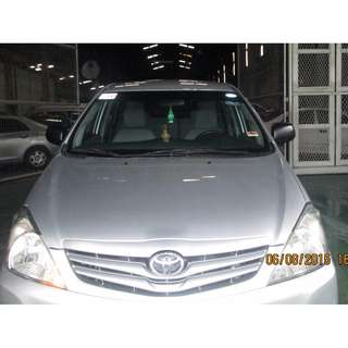 TOYOTA INNOVA SILVER FOR RENT