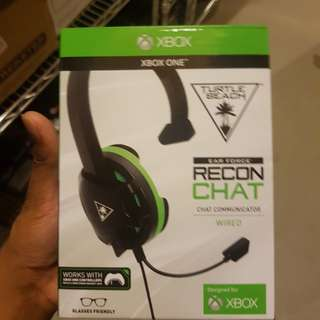 Xbox one recon chat headset