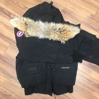 Authentic Black Canada Goose Bomber