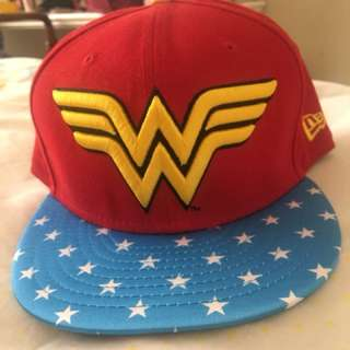 Wonder woman cap!