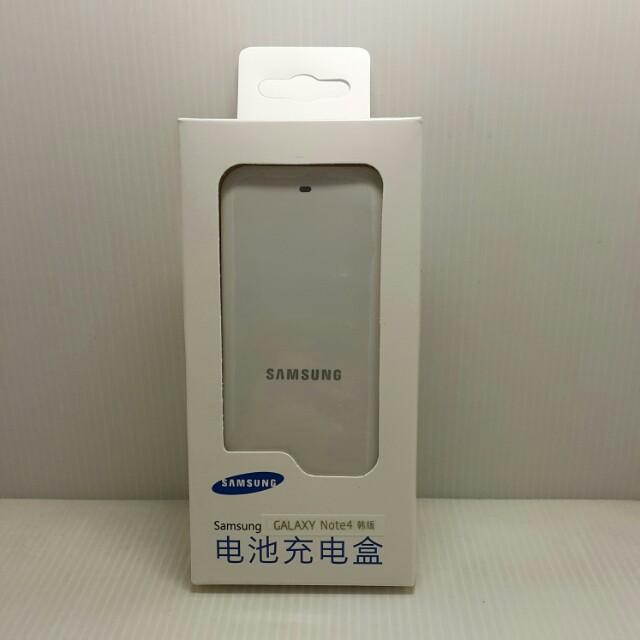 100%NEW SAMSUNG NOTE4 全新未拆封電池座充