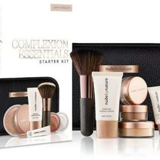 Nude by nature - Complexion essentials starter kit