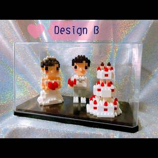 Groom and Bride Minifigures
