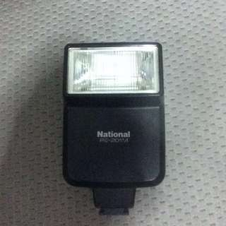 National pe-201M (film camera flash)