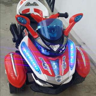 Kids Ride On Motorcycle - Spider 3 Remote Control