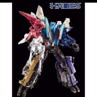 TFC Hades full sets of 6, Transformers combiners Liokaiser