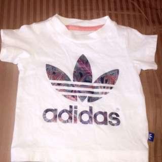 Adidas unisex baby top