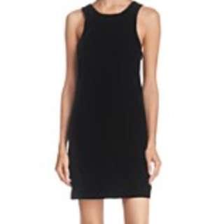 Vintage 90's Velvet Black Dress