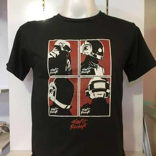 Daft Punk Tee Shirt DP