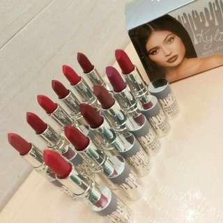 New..  Kylie Holiday Edition  24 Hrs Long Lasting Matte Lipstick per box (12pcs)   sunday pick.up