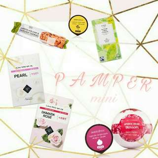GIFTED's PAMPER mini care pack 💝, gifts for her, customized gifts