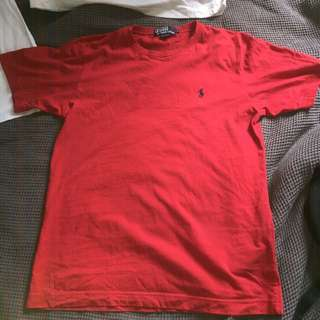 Red Ralph Lauren Top
