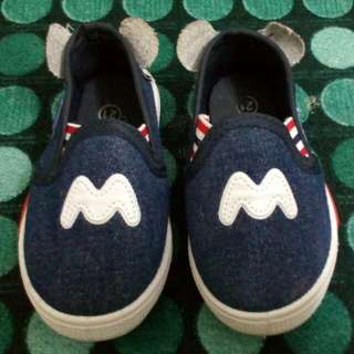 Baby shoes mickey mouse