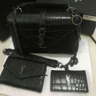 Brand new YSL bag/card holder/key pouch