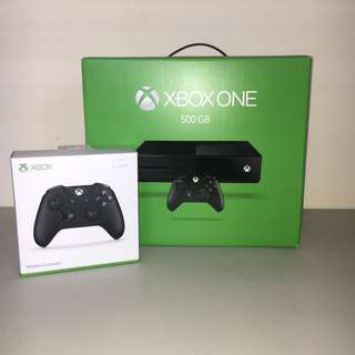 Xbox One Console (Includes Two Wireless Controllers)