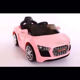 Pink Audi Toy Car for Kids with Remote Control