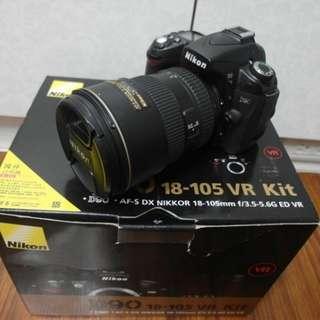 【出售】Nikon D90 數位單眼相機 國祥公司貨