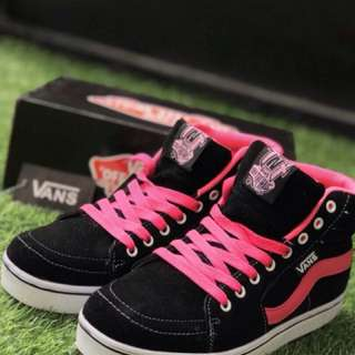 Vans Old School Black Pink