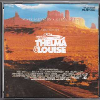 CD ALBUM - ORIGINAL MOTION PICTURE SOUNDTRACK - THELMA & LOUISE // BOX E//