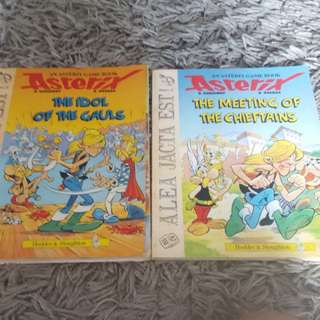 Asterix Book each $1