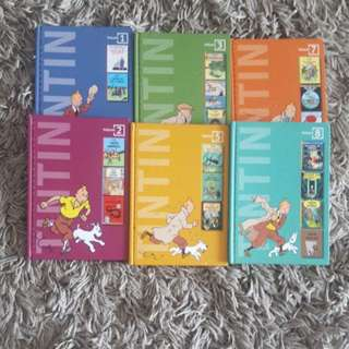 Tintin Comic Books each $10