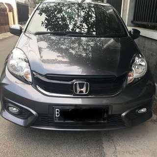Honda brio satya type E bln 5 thn 2017