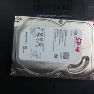 Pc hard disk 2tb with warrenty very gud price