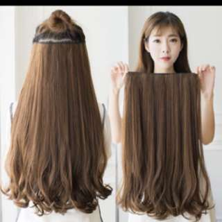 INSTOCK hair extension Wig