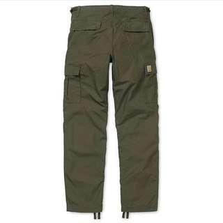 Carhartt Aviation Pants 軍綠