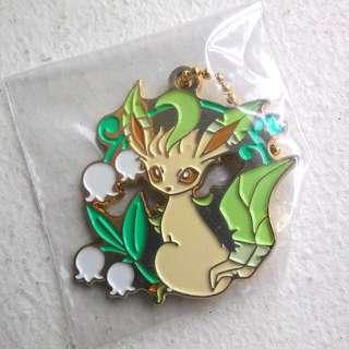 EEVEE ichibankuji leafeon Pokemon Keychain