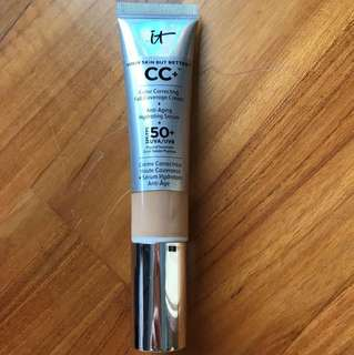 Swatched but unused IT Cosmetics CC Cream