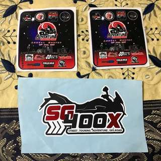 Adventure Riders & SG400X decal