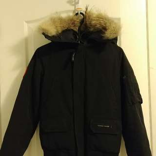 AUTHENTIC CANADA GOOSE BLK Youth sz Large