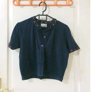 Blue Navy Top - Knitted goods