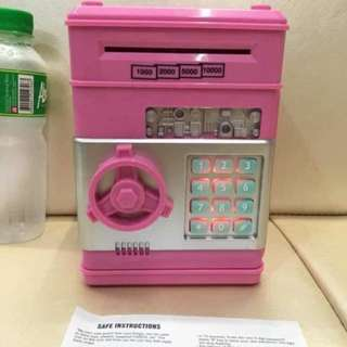 ATM Machine Coin Bank Battery Operated