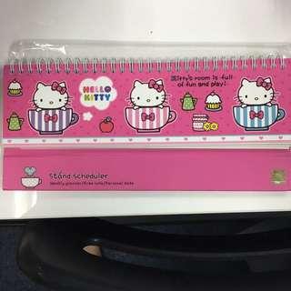 Hello kitty standing calendar