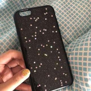 Iphone 6 galaxy black case