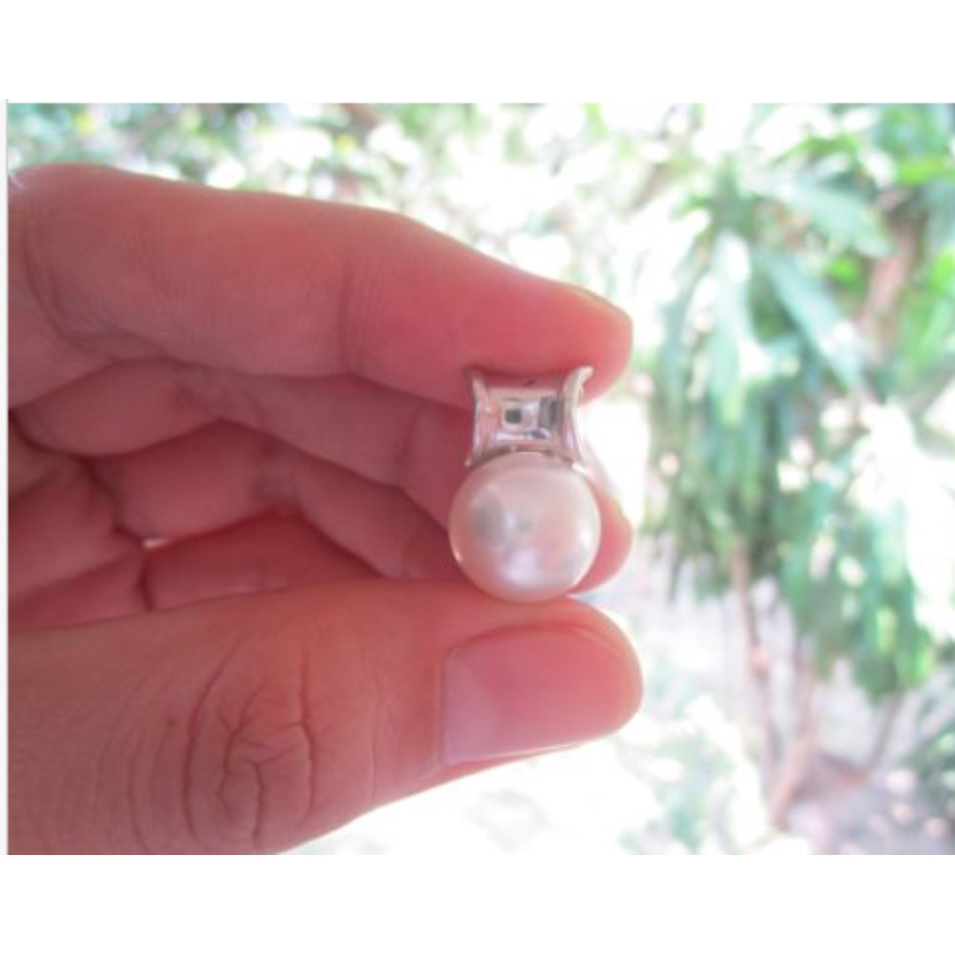 12.5mm South Sea Pearl White Gold Pendant 14k, Preloved Women\'s ...