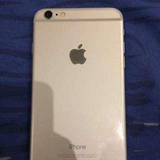 iPhone 6 plus Silver Globe Locked
