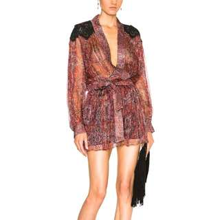 ZIMMERMANN EMPIRE FILIGREE PLAYSUIT | SIZE 0