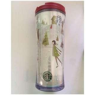 Authentic Starbucks Winter Tumbler