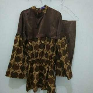 Setelan batik rabbani