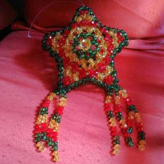 Parol made of beads