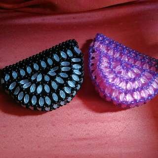Coin Purse made of Beads