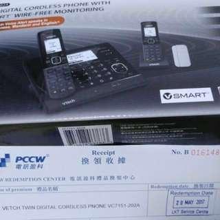 Vtech Twin Cordless Phone VC7151-202A