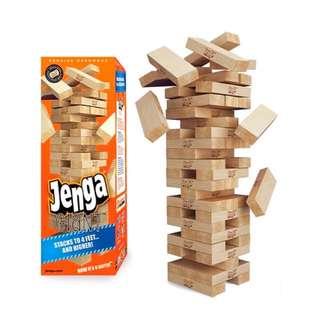 Jenga® GIANT™ Genuine Hardwood Edition