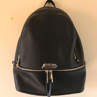 New Michael Kors Rhea Backpack Large
