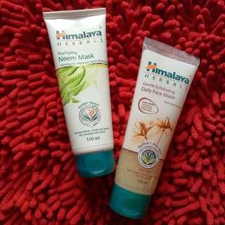 himalaya neem mask & gentle exfoliating