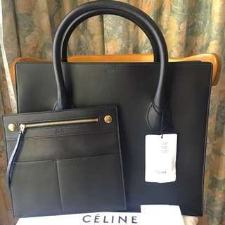 Authentic Celine Medium Boxy Bag