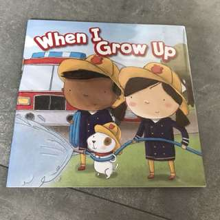 Learning about occupation - When I grow up